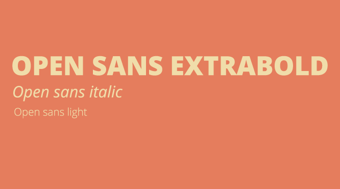 open-sans-typography