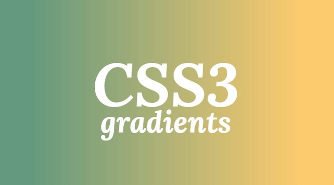 gradient-wit-css3