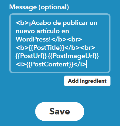 message-ifttt-tips