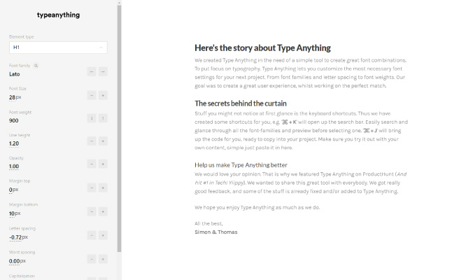 font-web-size