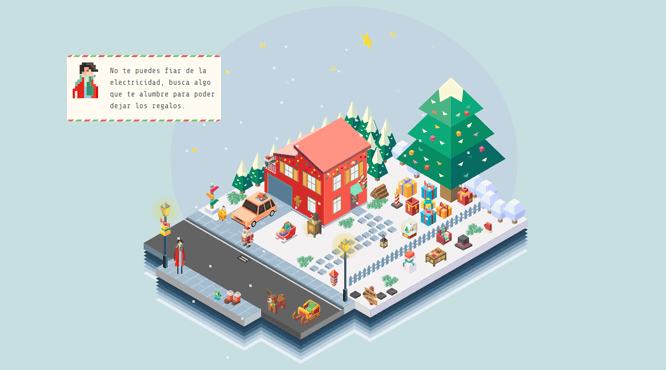 Christmas game with HTML and CSS