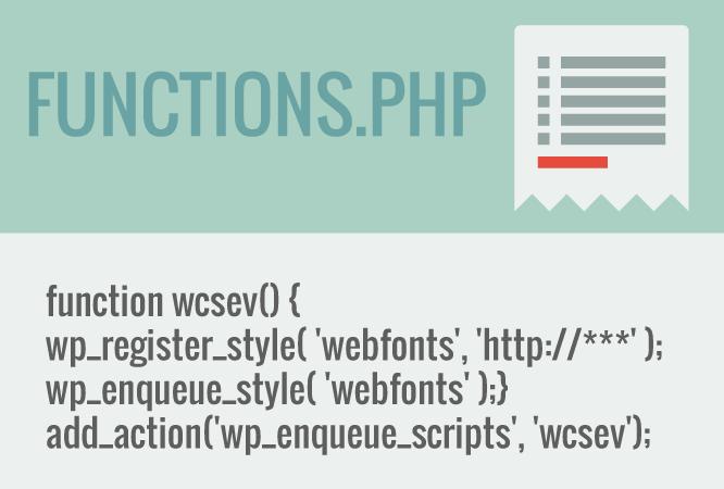 Web fonts en WordPress