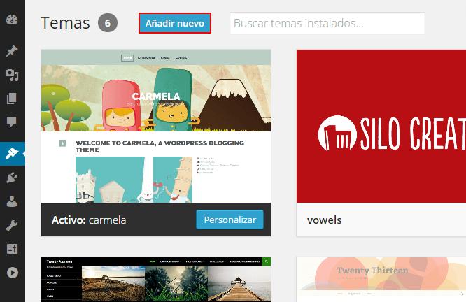 Como Instalar un Tema en WordPress: Tutorial • Silo Creativo