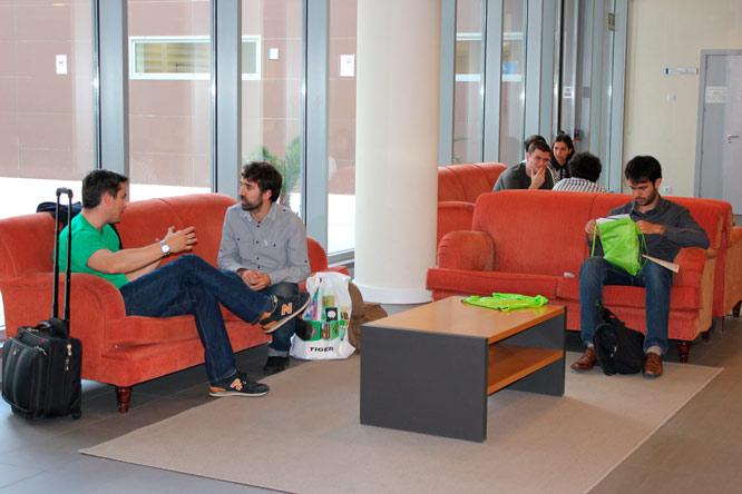 Tiempo de networking en OpenExpo