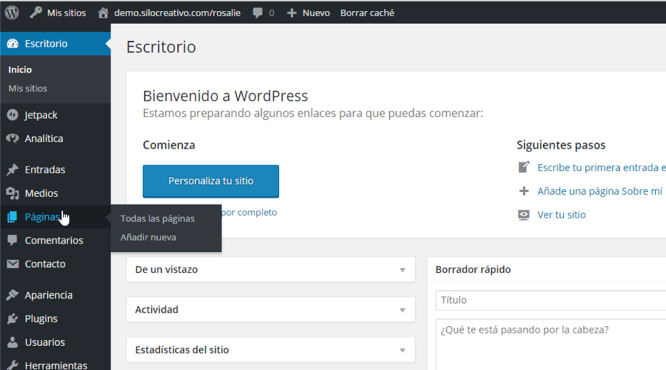 Video Tutorial: Cómo Crear una Página en WordPress sin Barra Lateral ...