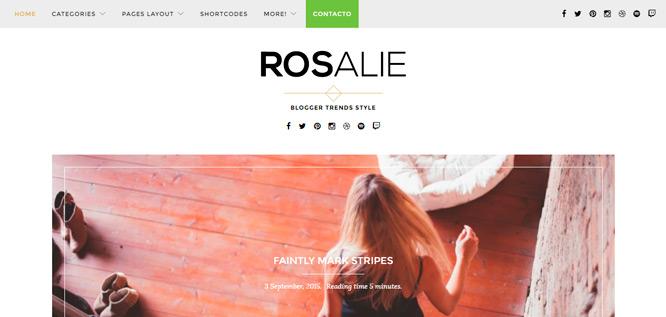 Diseño propio pagina menu WordPress