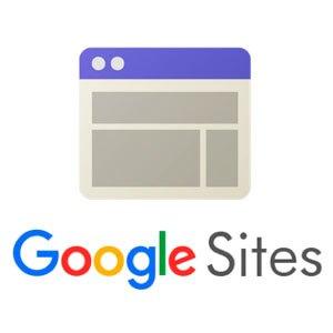 Logo de Google Sites