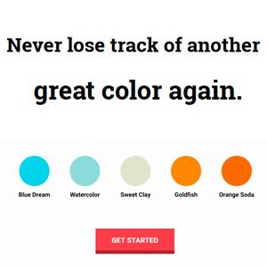 hexcandy herramienta para guardar paletas de colores