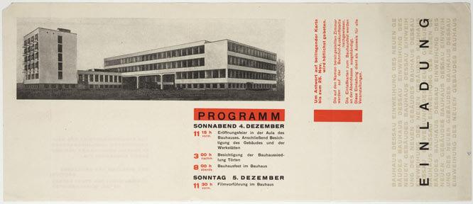 Diseño de poster por Herbert-Bayer