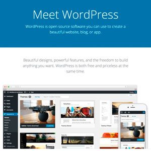Rediseño de la homepage de WordPress