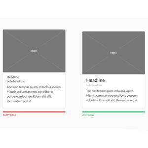 Mejora el diseño de las tarjetas de tu web