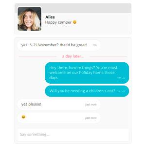 TalkJS integra un servicio de mensajería en la web