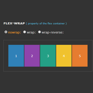 Flex-wrap en Flexbox