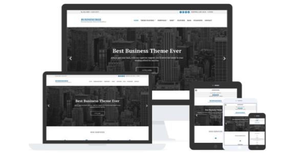 Business3ree para negocios y portafolio