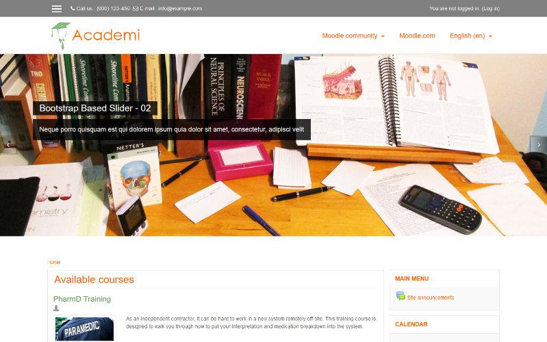 Academi, modèle pédagogique pour Moodle