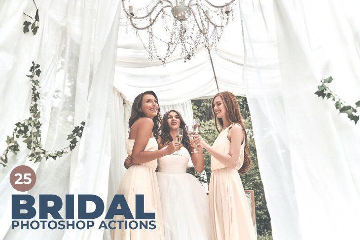 Bridal, acciones de Photoshop para bodas
