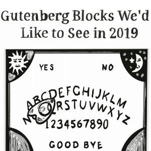 comic gutenberg bloque ouija