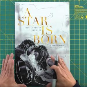 poster remake ha nacido una estrella