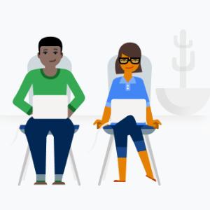 personas trabajando con ordenador portatil