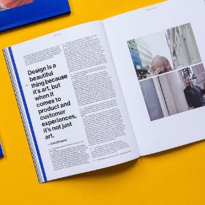 revista NNU Magazine abierta