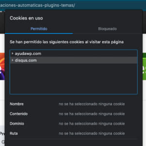 cookies disqus en wordpress