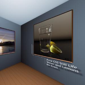 galeria de arte 3d con css