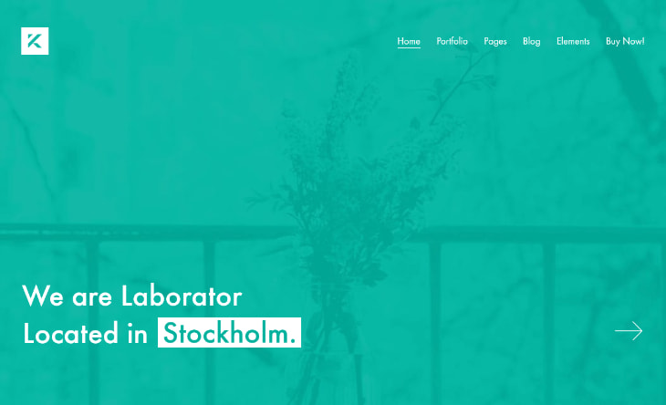 Kalium, plantilla WordPress minimalista