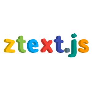 ztext.js para crear tipografias web en 3d