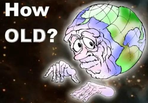 Usia bumi yang sudah tua