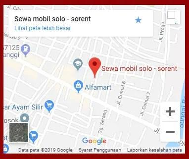 Info terkait dengan alamat usaha rental mobil di Solo