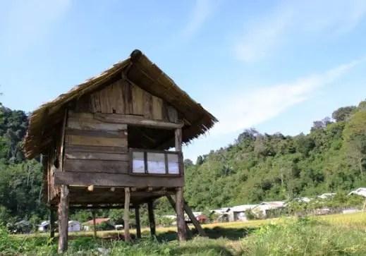 rumah adat Aceh Rangkang