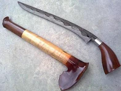Senjata Tradisional Riau Badik Tumbuk Lada