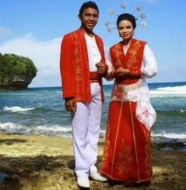 6 Pakaian Adat Maluku Ambon Nama Dan Gambar Serta Penjelasannya