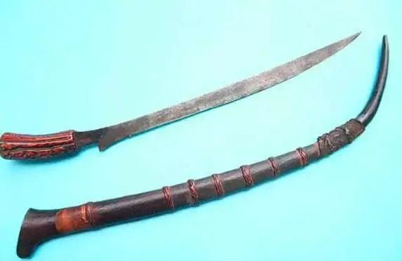 10 Senjata Tradisional Sumatera Utara Gambar Dan Penjelasannya