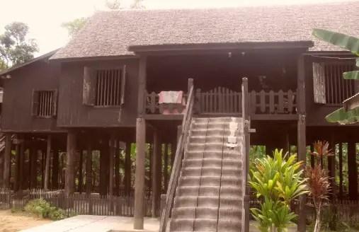Nama Rumat Adat Tradisional Kalimantan Tengah