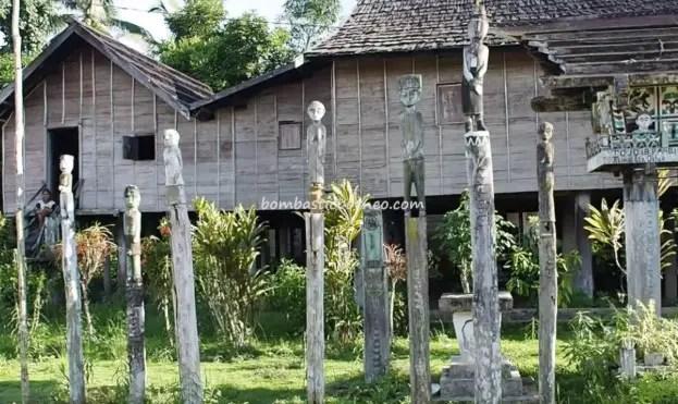 Kumpulan Rumah Adat Kalimantan Tengah Yang Unik