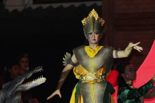 Tarian khas dari Sumatera Selatan