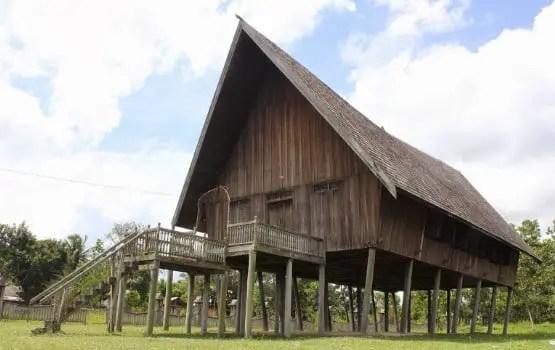 Rumah Khas Kalimantan Tengah