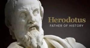 Pengertian Sejarah Menurut Herodotus Dan Contohnya Yang Lengkap