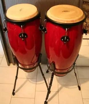 Review terkait alat musik ritmis Konga dan penjelasannya