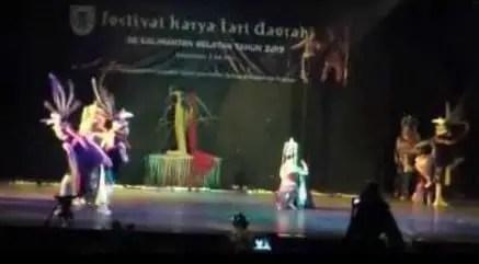Ulasan mengenai Tari Amban Pangina tradisional Kalimantan Selatan