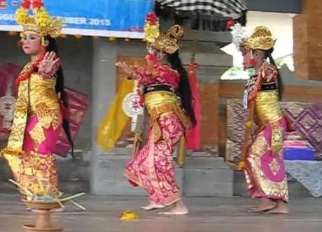 Uraian mengenai Tari Condong Bali dan keterangannya