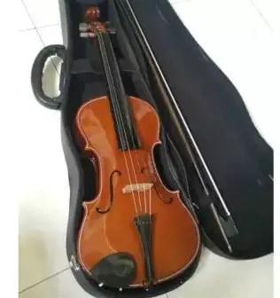 Uraian mengenai alat musik harmonis Biola dan keunikannya
