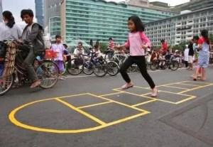 Uraian Mengenai Permainan Engklek Jawa Timur dan Keterangannya