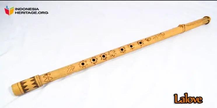 Uraian tentang alat musik Lalove Sulawesi Tengah dan Keunikannya