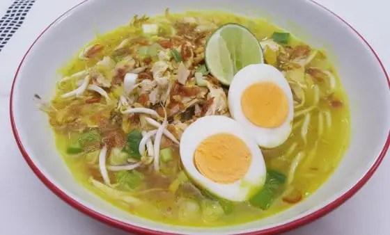 Uraian Makanan Tradisional Jawa Barat bernama Soto Kuning