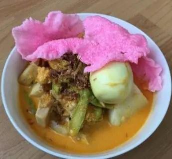 Uraian terkait Makanan Tradisional Lontong Padang Sumatera Barat yang keren