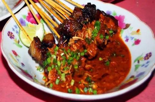 Uraian terkait Masakan Sate Matang Tradisional Aceh yang gurih