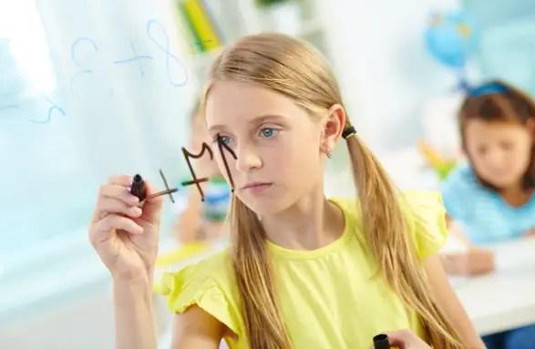 Saat belajar matematika anak akan lebih kreatif mencari cara untuk menjawab semua soal.