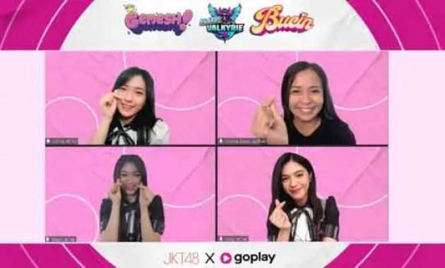 Gambar terkait Event Live Streaming Gamer Bersama JKT48 Mabar du Goplay